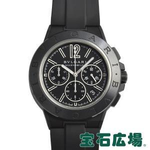 ブルガリ BVLGARI ディアゴノ マグネシウム クロノグラフ DG42BSMCVDCH 中古 メンズ 腕時計|houseki-h