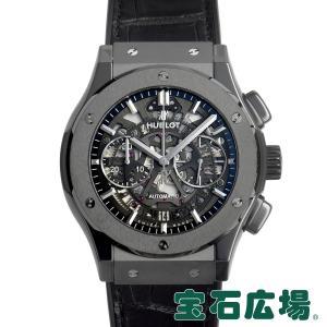 ウブロ HUBLOT クラシックフュージョン アエロフュージョン クロノグラフ ブラックマジック 525.CM.0170.LR 中古 メンズ 腕時計|houseki-h