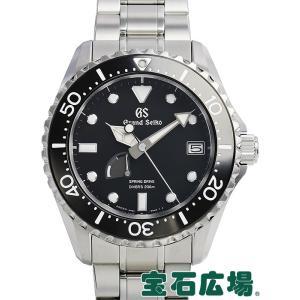 セイコー SEIKO グランドセイコー スプリングドライブ ダイバーズウォッチ マスターショップ限定 SBGA229 9R65-0AM0 中古 未使用品 メンズ 腕時計|houseki-h