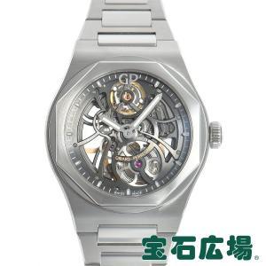 ジラール ペルゴ GIRARD PERREGAUX ロレアート スケルトン 81015-11-001-11A 中古 極美品 メンズ 腕時計|houseki-h