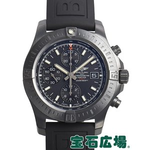 ブライトリング コルトクロノグラフ オートマティック ブラックスチール M181B01VPB 新品 メンズ 腕時計|houseki-h