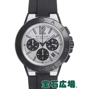 ブルガリ ディアゴノ マグネシウム クロノグラフ DG42WSMCVDCH 新品 メンズ 腕時計...