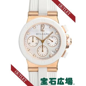 ブルガリ ディアゴノ クロノ DGP37WGCVDCH/8 新品 アウトレット ユニセックス 腕時計|houseki-h