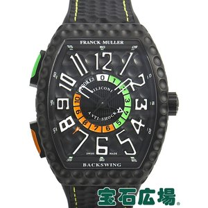 フランク・ミュラー FRANCK MULLER ヴァンガード バックスイング V45 C GOLF TTNRBRNR 新品  メンズ 腕時計 houseki-h