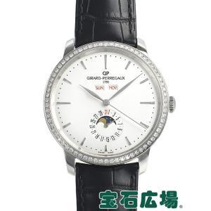 ジラール・ペルゴ 1966 フルカレンダー 49535D11A131-BB60 新品 メンズ 腕時計