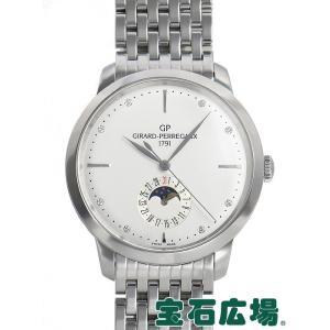 ジラール・ペルゴ 1966ムーンフェイズ 49545-11-1A1-11A 新品 メンズ 腕時計