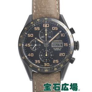 タグ・ホイヤー カレラ キャリバー16クロノグラフデイデイト ブラックチタン CV2A84.FC6394 新品 メンズ 腕時計|houseki-h