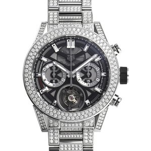タグ・ホイヤー カレラ ホイヤー02T フライングトゥールビヨン ハイジュエリー CAR5A1Z.BA0510 新品 メンズ 腕時計|houseki-h