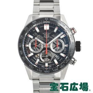タグ・ホイヤー TAG HEUER カレラ キャリバーホイヤー02 クロノグラフ 43mm CBG2010.BA0662 新品 メンズ 腕時計|houseki-h