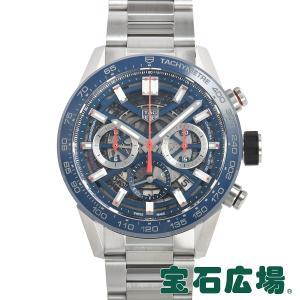 タグ・ホイヤー TAG HEUER カレラ キャリバーホイヤー02 クロノグラフ 43mm CBG2011.BA0662 新品 メンズ 腕時計|houseki-h