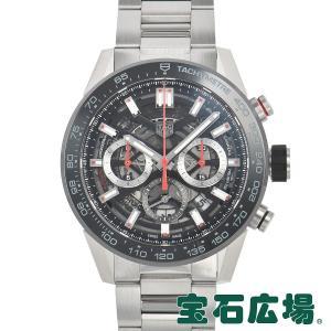 タグ・ホイヤー TAG HEUER カレラ キャリバーホイヤー02 クロノグラフ 45mm CBG2A10.BA0654 新品 メンズ 腕時計|houseki-h