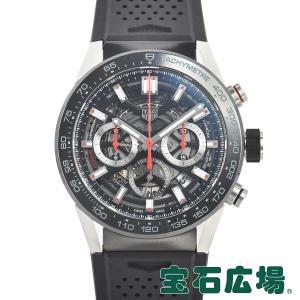 タグ・ホイヤー TAG HEUER カレラ キャリバーホイヤー02 クロノグラフ 45mm CBG2A10.FT6168 新品 メンズ 腕時計|houseki-h