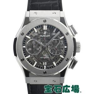 ウブロ クラシックフュージョンアエロクロノグラフチタニウム 525.NX.0170.LR 新品 腕時計 メンズ|houseki-h