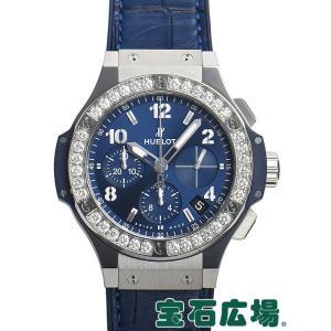 ウブロ ビッグバン スチール ブルー ダイヤモンド 341.SX.7170.LR.1204 新品 メンズ 腕時計|houseki-h