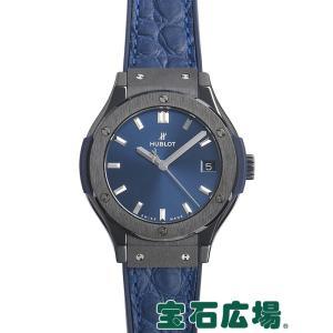 ウブロ クラシックフュージョンセラミックブルー 581.CM.7170.LR 新品 レディース 腕時計 houseki-h