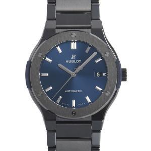 ウブロ HUBLOT クラシック フュージョン ブルー ブレスレット 510.CM.7170.CM 新品  メンズ 腕時計 houseki-h
