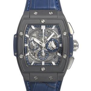 ウブロ HUBLOT スピリット オブ ビッグバン セラミックブルー 641.CI.7170.LR 新品  メンズ 腕時計|houseki-h