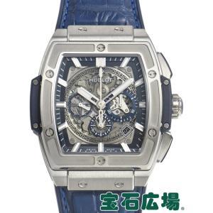 ウブロ HUBLOT スピリット オブ ビッグバン チタニウム ブルー 601.NX.7170.LR 新品 メンズ 腕時計|houseki-h