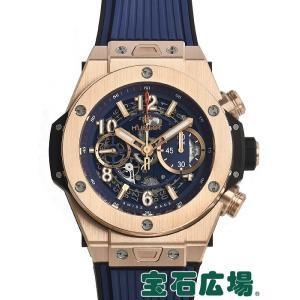 ウブロ HUBLOT ビッグバン ウニコ キングゴールド ブルー 411.OX.5189.RX 新品  メンズ 腕時計|houseki-h