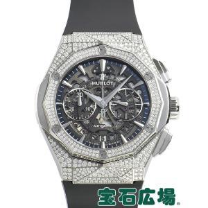 ウブロ HUBLOT アエロフュージョンクロノグラフ オーリンスキー チタニウムパヴェ 525.NX.0170.RX.1704.ORL18 新品  メンズ 腕時計|houseki-h