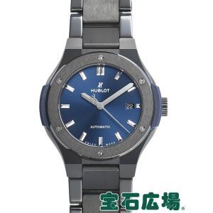 ウブロ HUBLOT クラシックフュージョン セラミック ブルー 585.CM.7170.CM 新品  レディース 腕時計|houseki-h