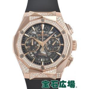 ウブロ HUBLOT アエロフュージョン オーリンスキー キングゴールド オルタナティヴ パヴェ 525.OX.0180.RX.1804.ORL19 新品 メンズ 腕時計|houseki-h