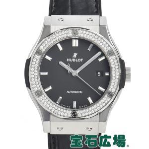 ウブロ HUBLOT クラシックフュージョン チタニウム ダイヤモンド 542.NX.1171.LR.1104 新品 メンズ 腕時計 houseki-h