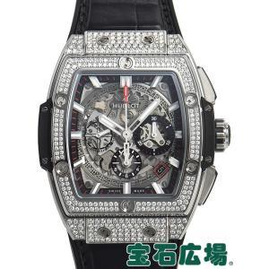 ウブロ HUBLOT スピリット オブ ビッグバン チタニウム パヴェ 641.NX.0173.LR.1704 新品 メンズ 腕時計|houseki-h