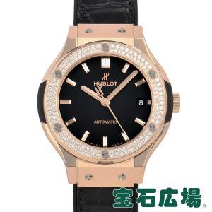 ウブロ HUBLOT クラシックフュージョン キングゴールドダイヤモンド 565.OX.1181.LR.1104 新品 ユニセックス 腕時計|houseki-h