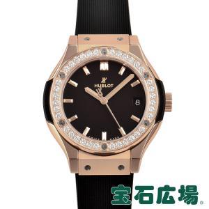 ウブロ HUBLOT クラシックフュージョン キングゴールドダイヤモンド 581.OX.1181.RX.1104 新品 レディース 腕時計|houseki-h