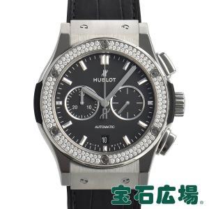 ウブロ HUBLOT クラシックフュージョン チタニウム クロノグラフ ダイヤモンド 541.NX.1171.LR.1104 新品 メンズ 腕時計|houseki-h