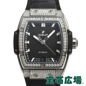 ウブロ HUBLOT スピリット オブ ビッグバン チタニウム ダイヤモンド 665.NX.1170.LR.1604 新品 レディース 腕時計|houseki-h