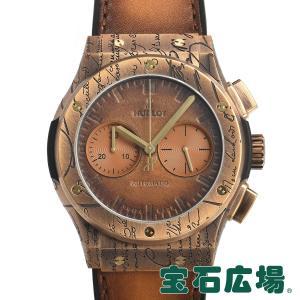 ウブロ HUBLOT クラシックフュージョン クロノグラフ ベルルッティ コールドゴールド 世界限定200本 521.BZ.05IG.VR.BER19 新品 メンズ 腕時計|houseki-h