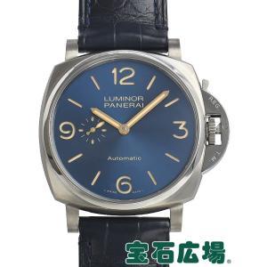 パネライ ルミノール ドゥエ 3デイズ オートマティックチタニオ PAM00729 新品 メンズ 腕時計 houseki-h