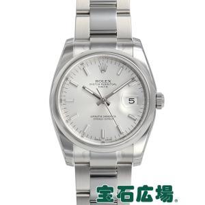 ロレックス オイスターパーペチュアル デイト 115200 新品 メンズ 腕時計
