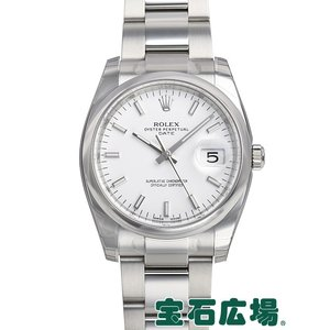 ロレックス パーペチュアル デイト115200 新品 メンズ 腕時計