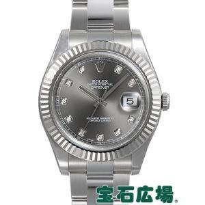 ロレックス デイトジャスト II 116334G 新品 メンズ 腕時計 メンズ