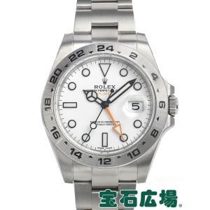 ロレックス エクスプローラーII 216570 新品 腕時計...