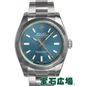 ロレックス ミルガウス 116400GV 新品 腕時計 メン...
