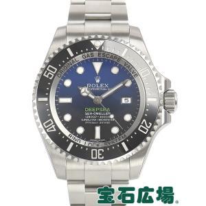 ロレックス オイスターパーペチュアル シードゥエラーディープシーDブルー 116660  新品 メンズ 腕時計