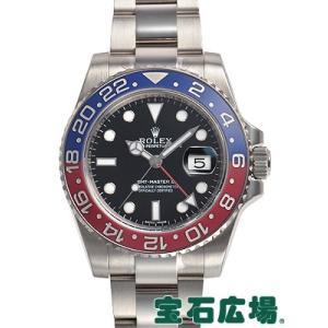 ロレックス GMTマスターII 116719BLRO 新品 ...