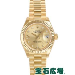 ロレックス レディ デイトジャスト 28 279178G 新品 レディース 腕時計