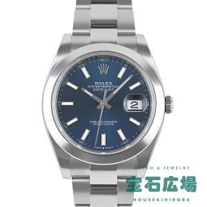 ロレックス デイトジャスト41 126300 新品 メンズ 腕時計