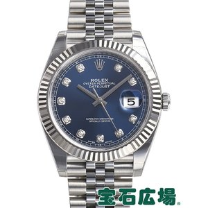 ロレックス デイトジャスト41 126334G 新品 メンズ 腕時計