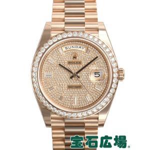 ロレックス ROLEX デイデイト40 228345RBR 新品 メンズ 腕時計