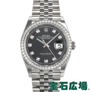 ロレックス ROLEX デイトジャスト36 126284RBR 新品 メンズ 腕時計|houseki-h