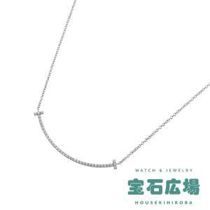 ティファニー TIFFANY&CO Tスマイル ダイヤ ネックレス(ミニ) 34684448 新品  ジュエリー|houseki-h