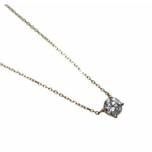 ダイヤモンド プチ ペンダント ネックレス イエローゴールド製 直結タイプ|houseki-shibata|02