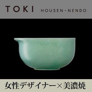 美濃焼「TOKI」シリーズ A-bowl ライトグリーン|housengama-store