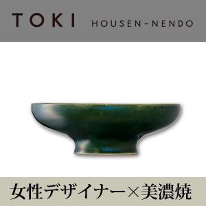 美濃焼「TOKI」シリーズ T-low bowl グリーン|housengama-store